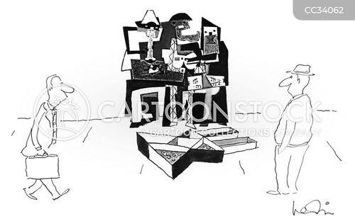 abstraction cartoon