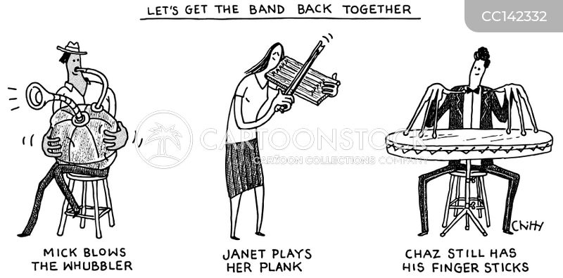 junkyard bands cartoon