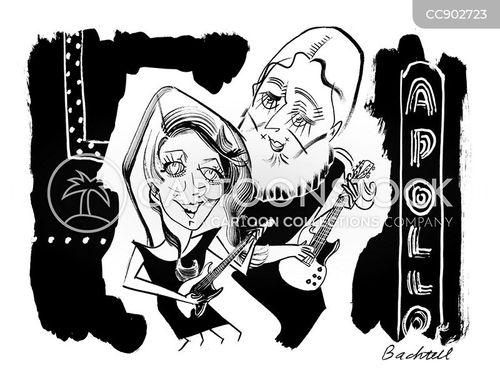 rock musician cartoon