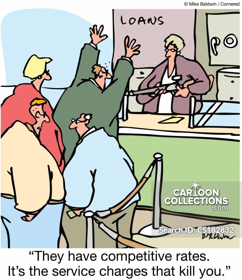 competitive rate cartoon