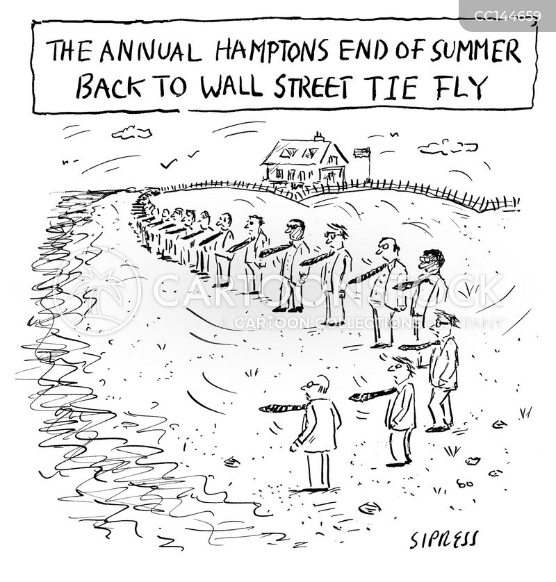 the hamptons cartoon