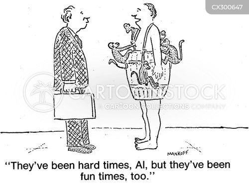 hard times cartoon
