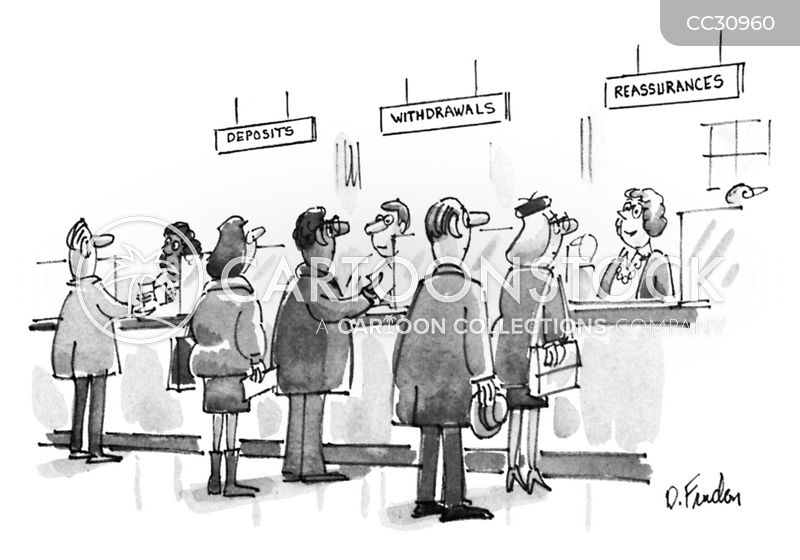 cashiers cartoon