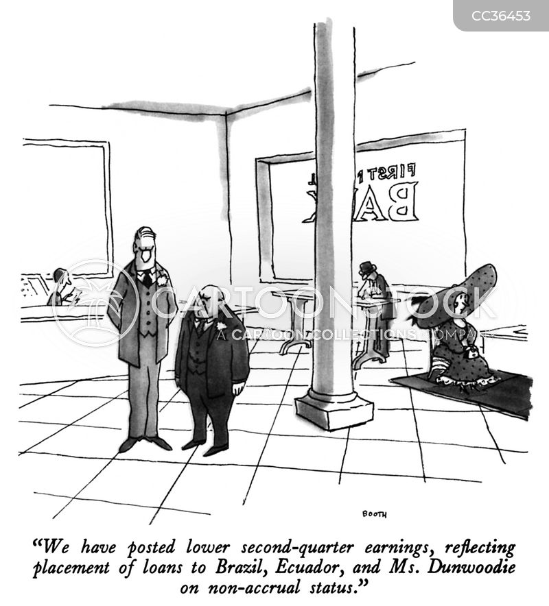 Non-accrual Status cartoon