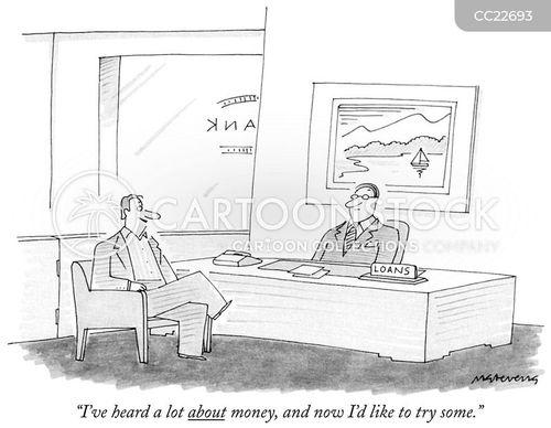 credit card debt cartoon
