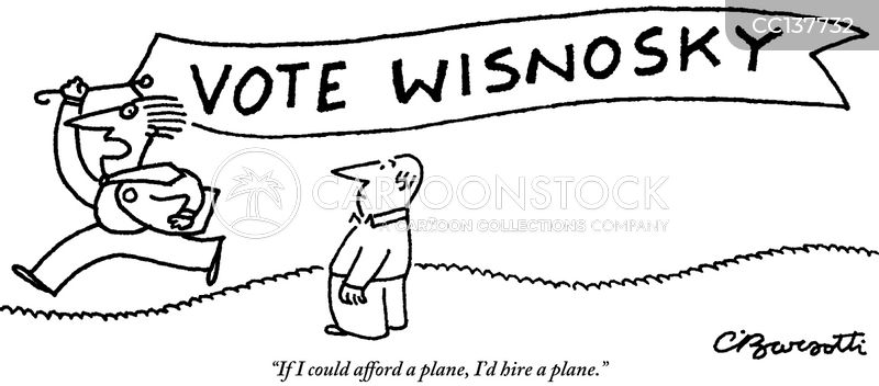 plane banner cartoon