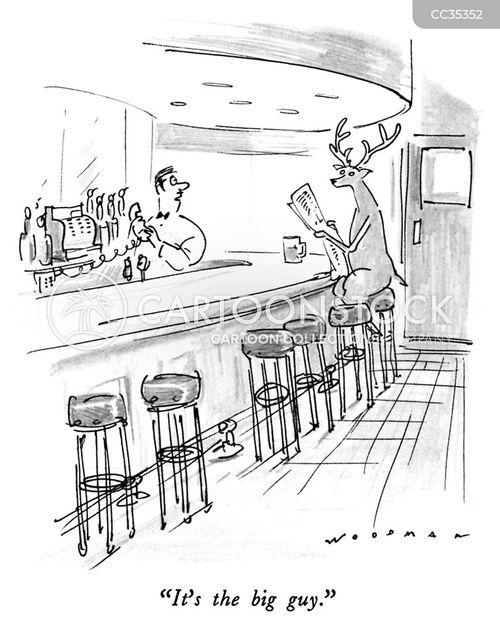 hospitality cartoon