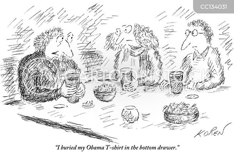 obama campaign cartoon