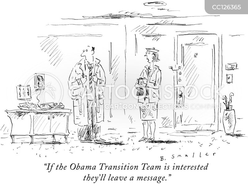 transition teams cartoon