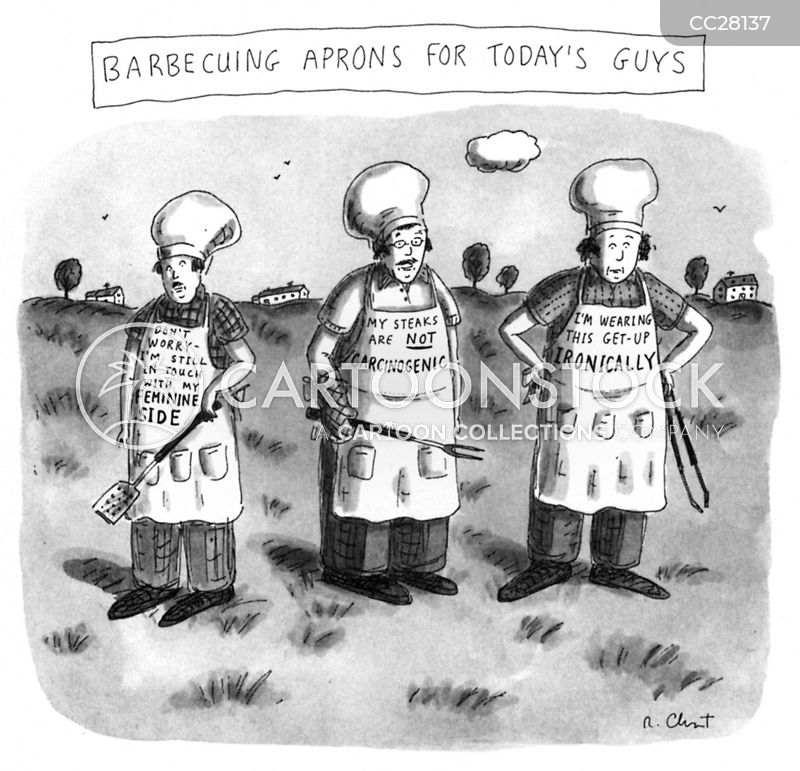 apron cartoon