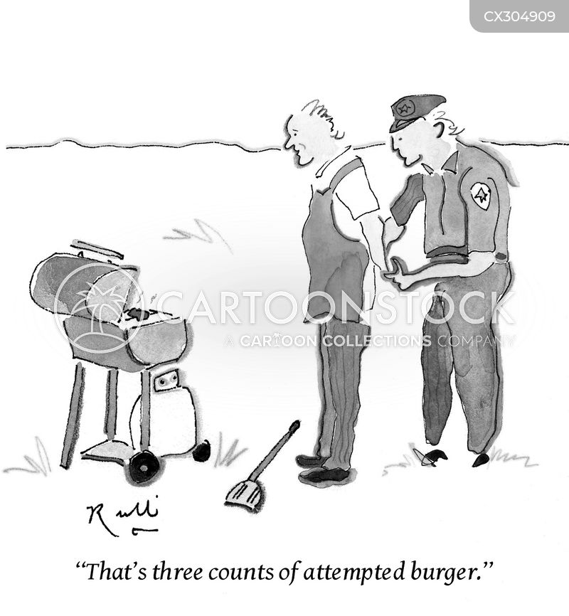 barbeque cartoon