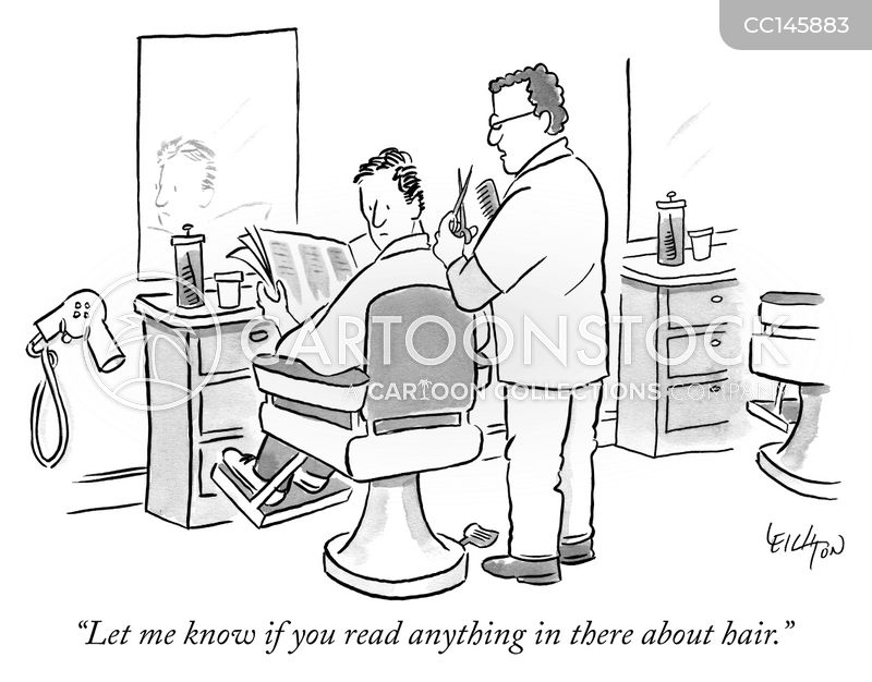 barber cartoon