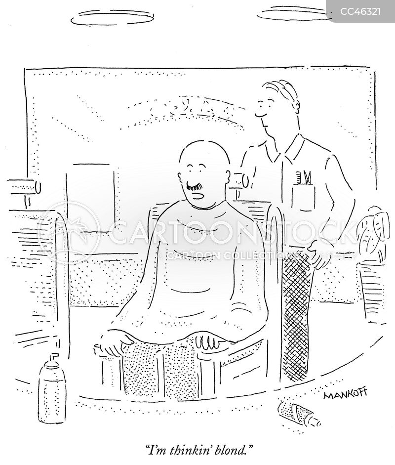 stylists cartoon