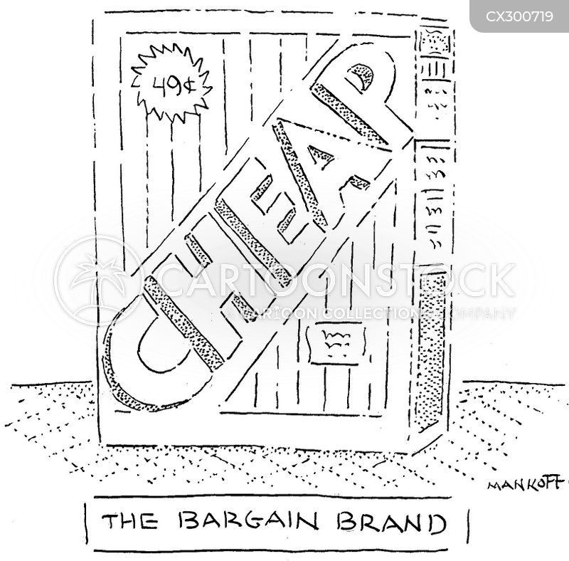 marketing tactic cartoon