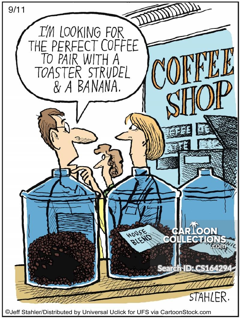 Coffee Beans cartoon