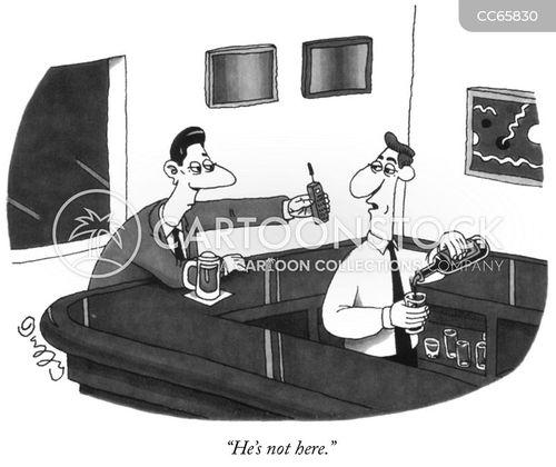 drinking hole cartoon