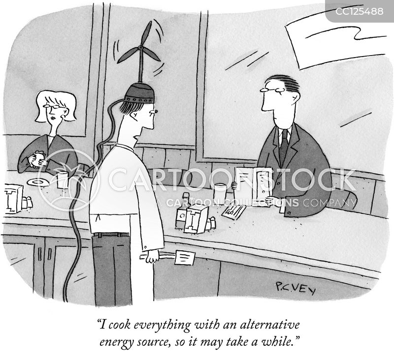alternative energy source cartoon