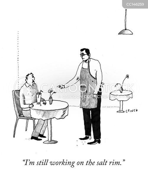 margaritas cartoon