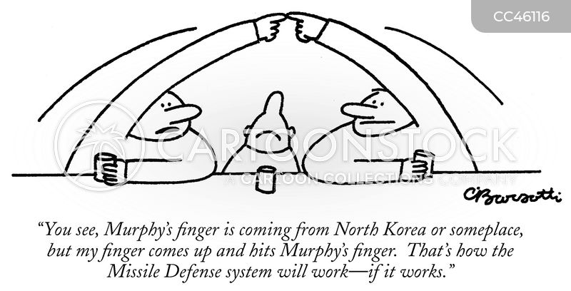 intercontinental ballistic missiles cartoon