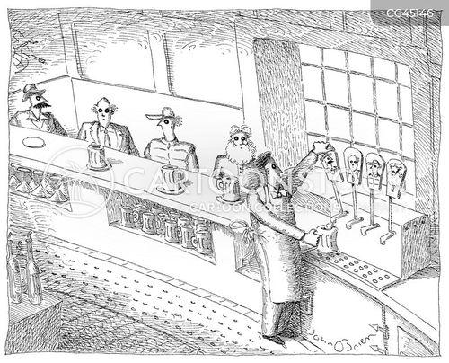 regular customers cartoon
