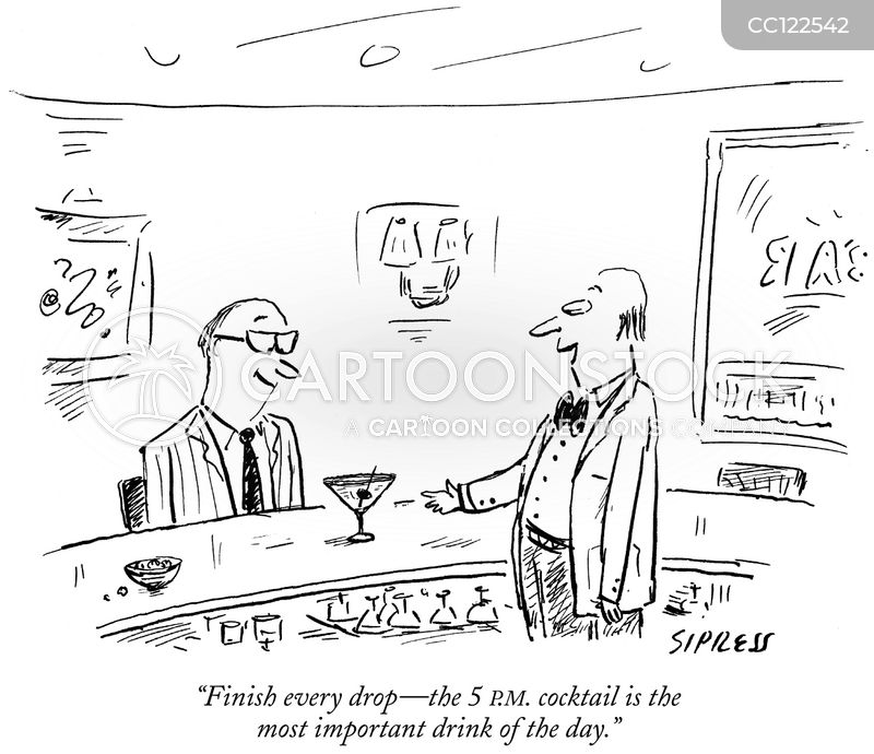 barkeep cartoon