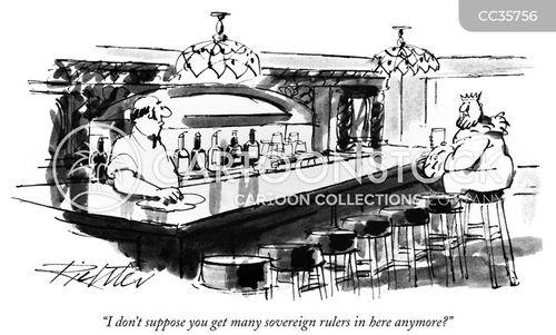 barkeep cartoon