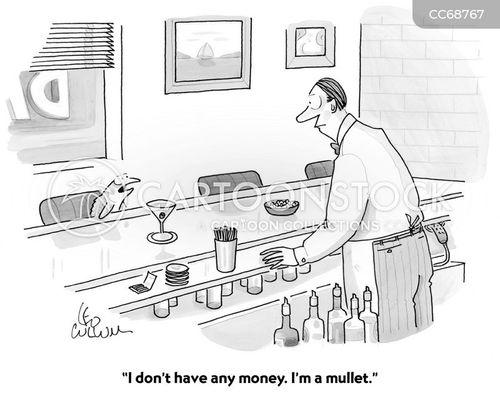 barkeeper cartoon