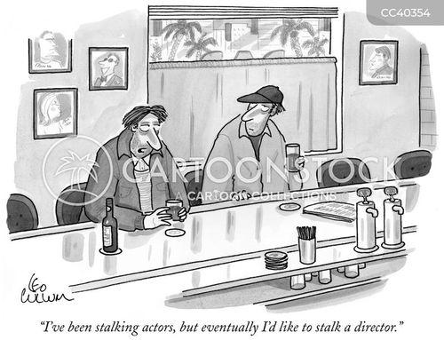 stalk cartoon