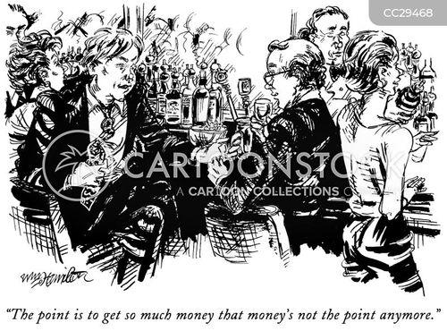 wealthy men cartoon