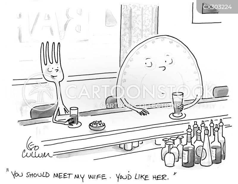 forks cartoon