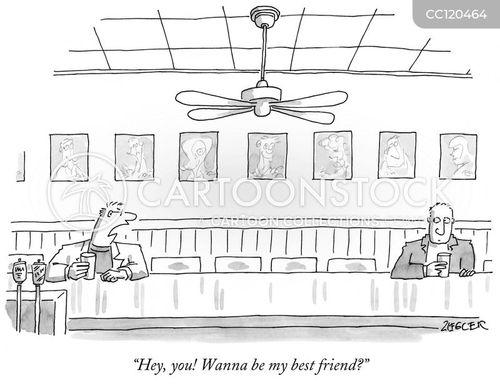best friends cartoon