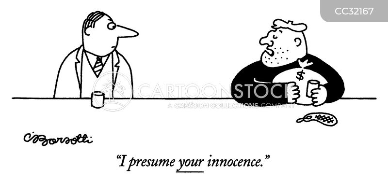 presumption cartoon