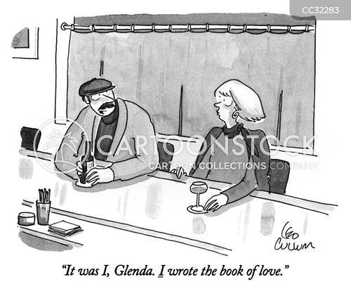 pick up lines cartoon