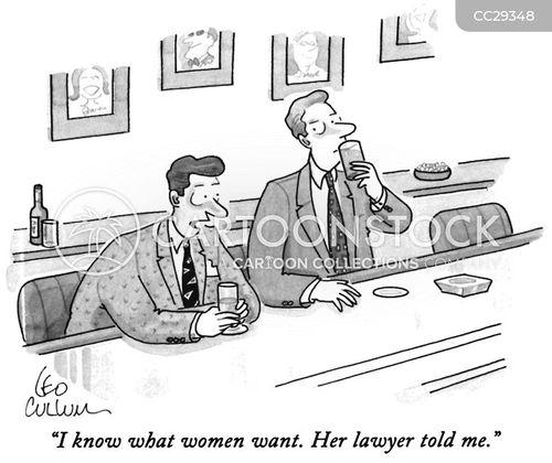 legal advice cartoon