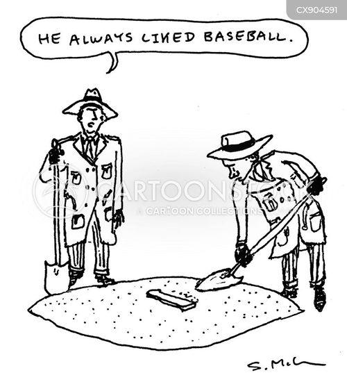 pitchers mound cartoon