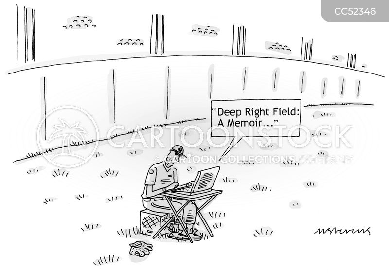 right fielder cartoon