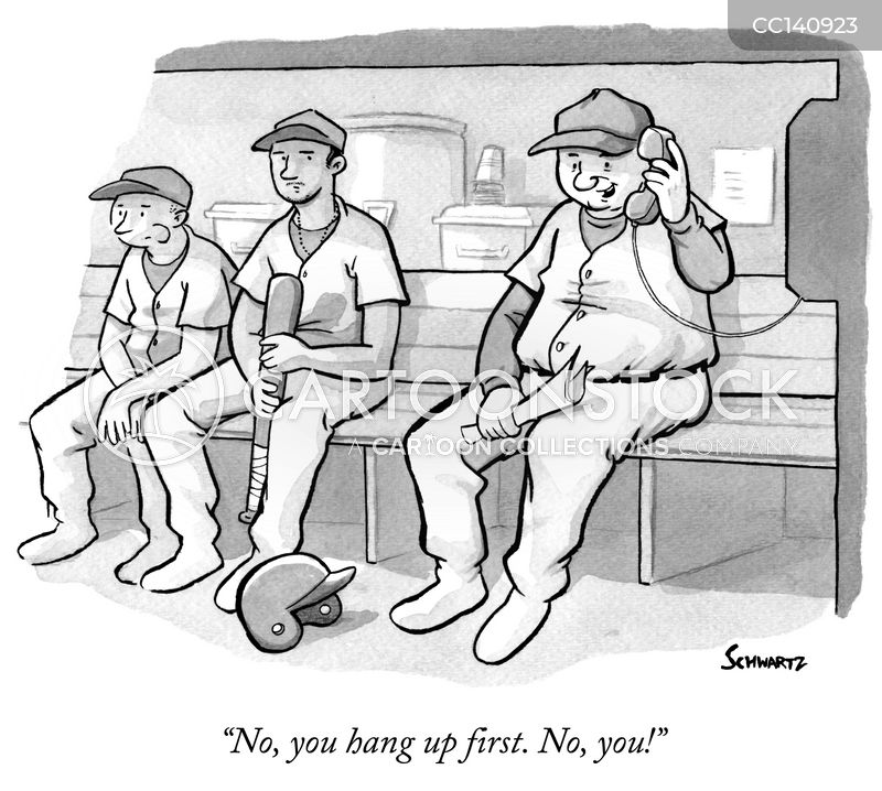 baseball manager cartoon