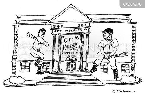 baseball fan cartoon
