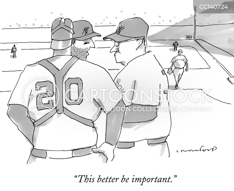 pitcher cartoon