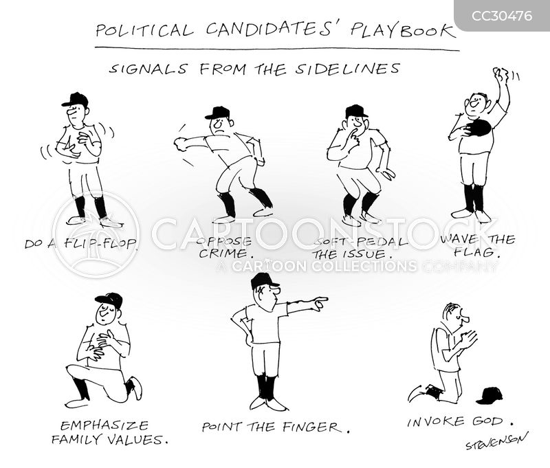 candidates cartoon