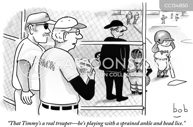 coach cartoon