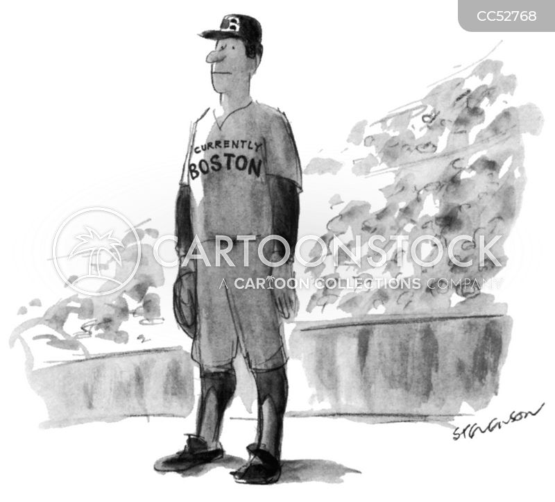 professional athletes cartoon
