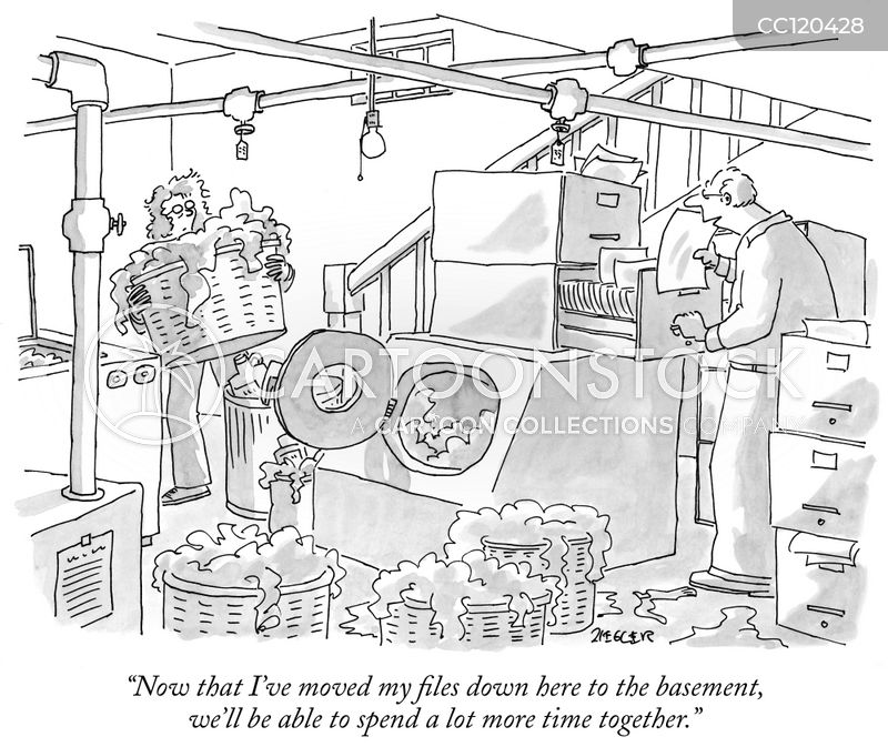chores cartoon