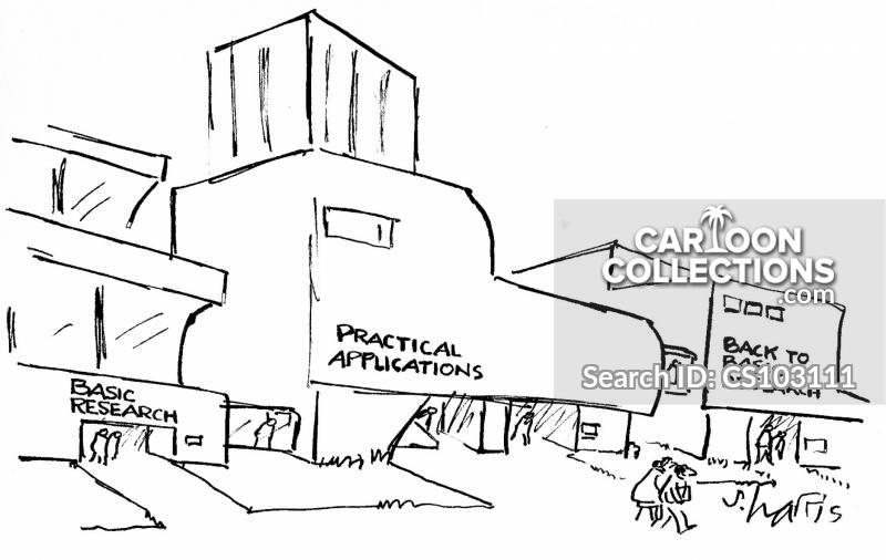 research centre cartoon