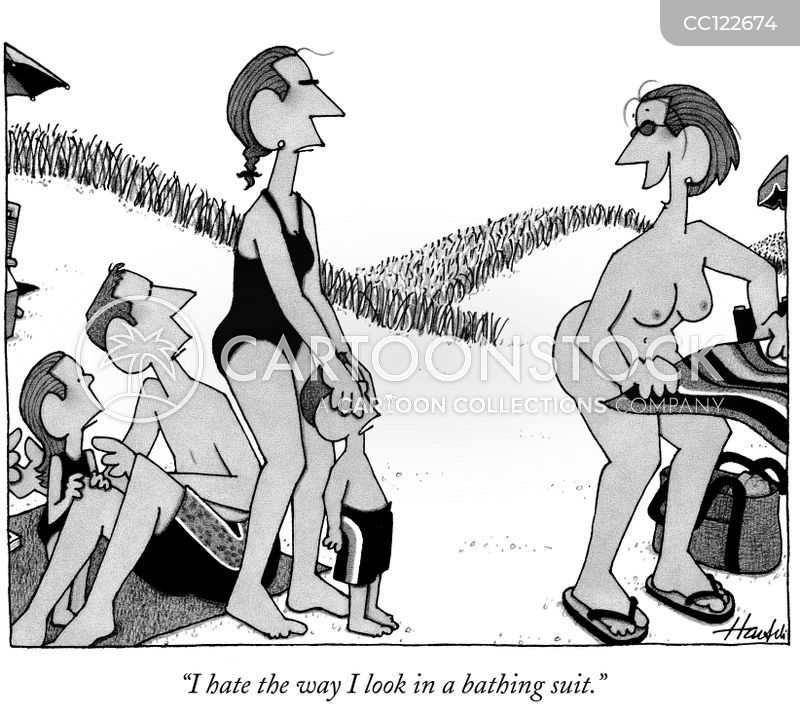 Public Nakedness cartoon