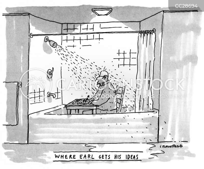 bath cartoon
