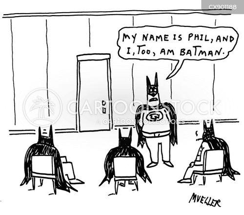 comic book character cartoon