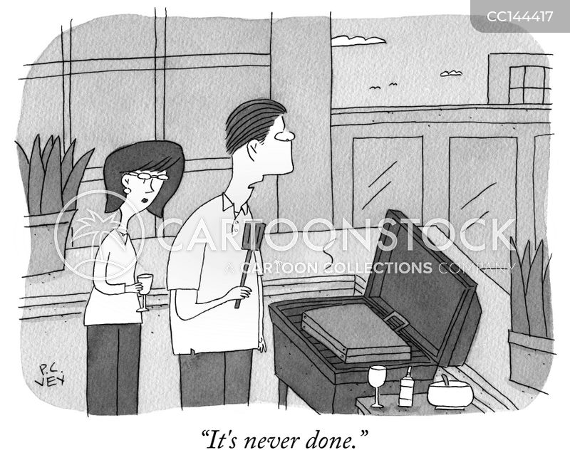 briefcases cartoon