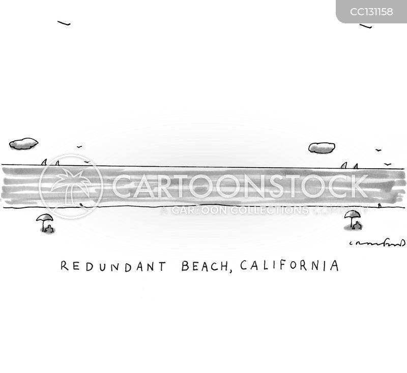 Coastline cartoon