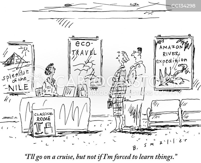 traveller cartoon